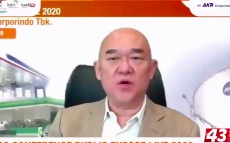 Presiden Direktur PT AKR Corporindo Tbk Haryanto Adikoesomo - Istimewa