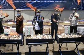 25,6 Juta Rokok Ilegal di Jawa Tengah Dimusnahkan
