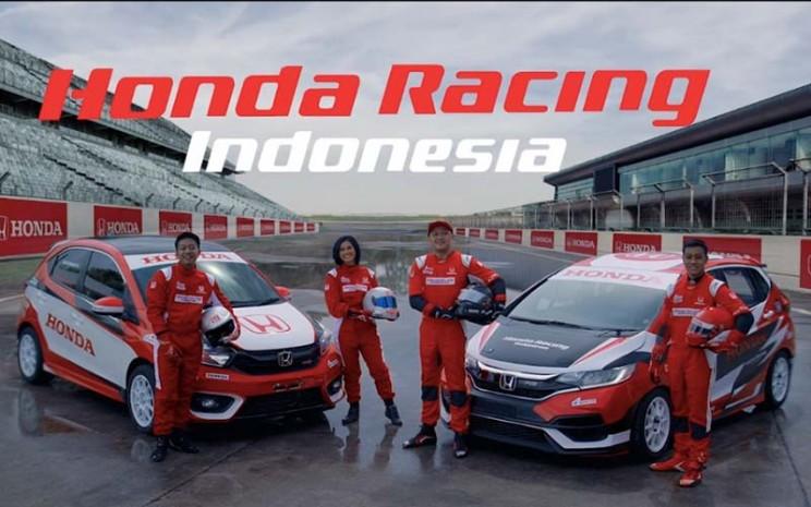 Komposisi pembalap baru tim Honda Racing Indonesia.  - PT Honda Prospect Motor