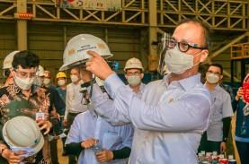 Tekan Impor Baja, Pabrik HSM II KRAS Diresmikan April…