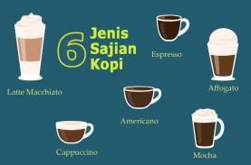 6 Sajian Minuman Kopi Wajib Anda Ketahui
