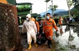 Sumedang Selatan Banjir Bandang dan Longsor, Satu Tewas