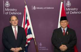 Menhan Prabowo Bertemu Menhan Inggris di London, Bahas Apa?