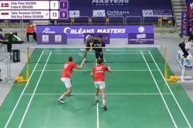 Hasil Orleans Masters 2021: Keren! Sabar/Reza Lolos…