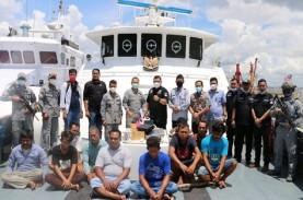 Kena! 2 Kapal Malaysia Tertangkap Mencuri Ikan di…