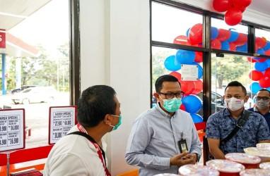 Pertamina MOR II Gandeng Grup Alfamart Sediakan One Stop Service di SPBU