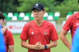 Pelatih Timnas Shin Tae-yong Dinyatakan Negatif Covid-19