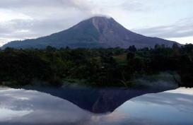 Erupsi Lagi, Gunung Sinabung Semburkan Awan Panas 1.000 Meter
