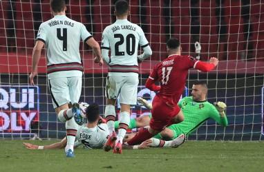 Hasil Pra-Piala Dunia, Portugal Lepas Keunggulan 2 Gol di Serbia