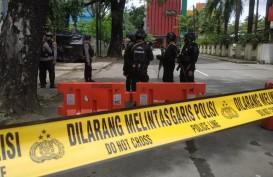 Respons Bom di Depan Gereja Katedral, Aparat Berbagi Tugas