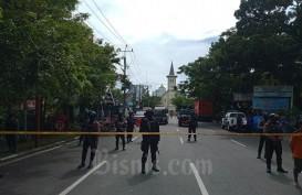 Bom Bunuh Diri Makassar: Banyak Serpihan Tubuh di Lokasi