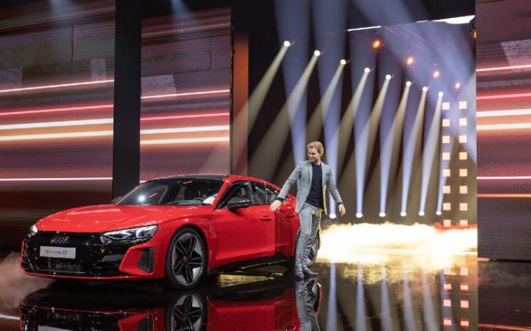 Ilustrasi: Audi e-Tron GT.  - Audi AG
