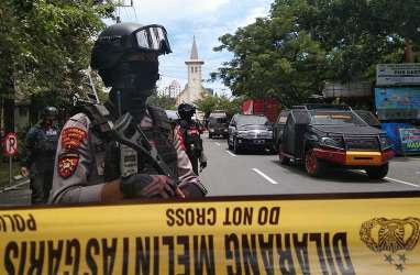 Usai Kejadian Bom Katedral Makassar, Polri Imbau Umat Kristiani Ibadah Virtual
