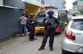 Suasana Penggerebekan di Tinumbu, Bantoala, Makassar