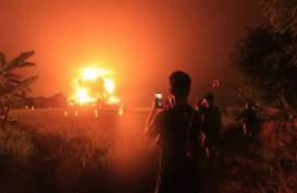 Kebakaran Kilang Balongan, 5 Orang Luka Berat, 23 Luka Ringan