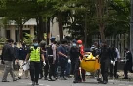 Bom Gereja Katedral Makassar: Terungkap! Pelaku Suami Istri, Baru 6 Bulan Menikah