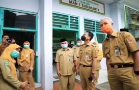 Ganjar dan Gibran Sidak Pelaksanaan PTM di Solo, Temukan Guru Abai Prokes