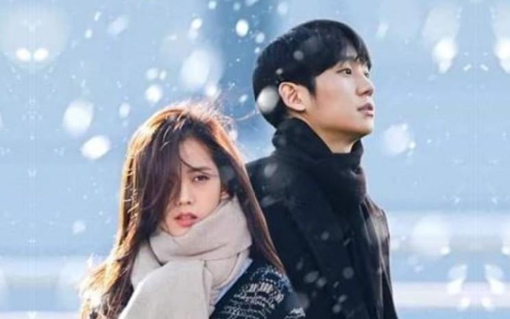 Poster Drama 'Snowdrop'. Kontroversi ini muncul tidak lama setelah SBS memutuskan untuk mencabut tayangan 'Joseon Exorcist'.  - Dok JTBC