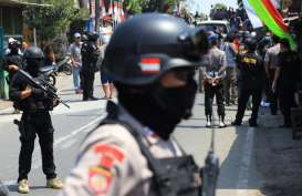 Densus 88 Amankan Seorang Terduga Teroris di Bekasi