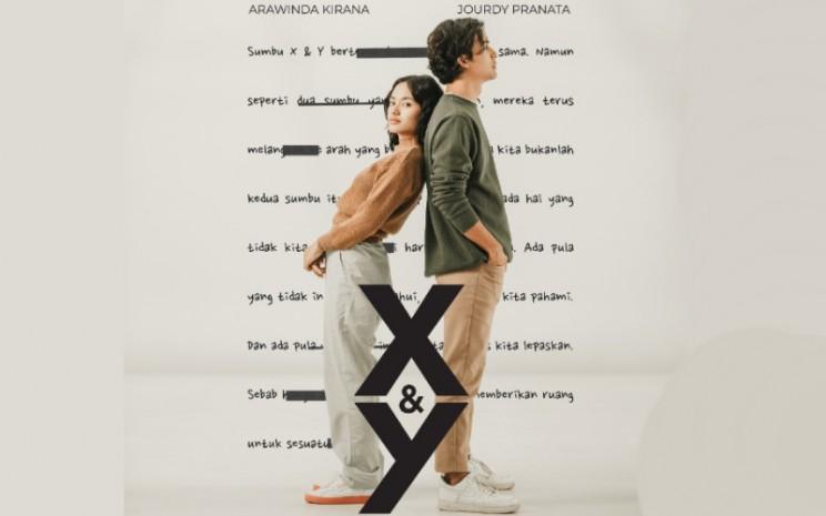 Film 'X&Y' mengangkat cerita romansa tentang Omar, merepresentasikan sumbu Y, yang memendam rasa kepada Winda, si sumbu X yang ternyata mempunyai langkah ke arah yang berbeda.  - TikTok