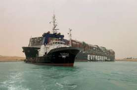 Raksasa Ever Given Bebas, Kapal-Kapal di Terusan Suez…