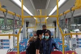 2021, Transjakarta Targetkan 100 Bus Listrik Beroperasi