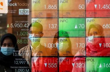 ASII Dilego Investor Asing, Indeks Bisnis-27 Terkoreksi Tipis