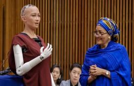 Robot Humanoid Sophia Jual Karya Seni NFT Seharga Rp10 Miliar