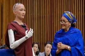 Robot Humanoid Sophia Jual Karya Seni NFT Seharga…