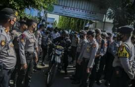 Sidang Kasus Rizieq Shihab, Polisi Pasang Kawat Berduri di PN Jaktim
