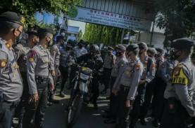 Sidang Kasus Rizieq Shihab, Polisi Pasang Kawat Berduri…