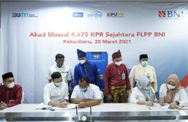 BNI Wilayah 02 Padang Salurkan 322 KPR Bersubsidi