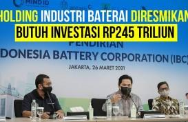 Holding Industri Baterai Diresmikan, Apa Yang Pertama Disiapkan?