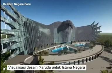 Beredar, Desain Istana Negara Ibu Kota Baru Berlambang Garuda