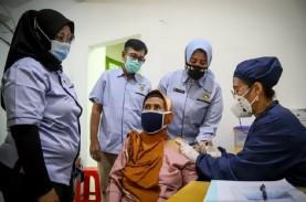 Vaksinasi Covid-19 di DKI: 1,17 Juta Orang Sudah Disuntik…