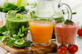Ini Waktu Paling Tepat Minum Jus Sayuran dan Buah