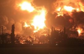 KEBAKARAN TANGKI KILANG BALONGAN : Pasokan Gas ONWJ Tertahan