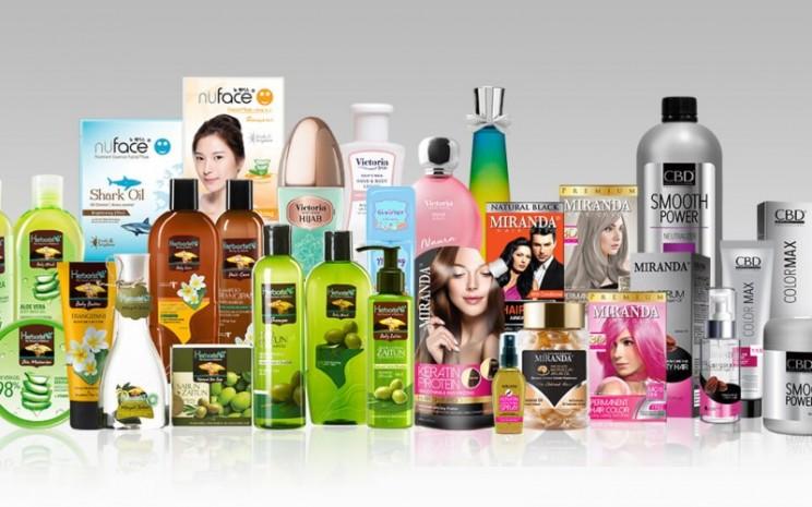 Produk-produk kecantikan dan perawatan PT Victoria Care Indonesia Tbk. -  Istimewa.