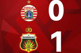 Hasil Persija vs Bhayangkara FC: Tertinggal, Persija…