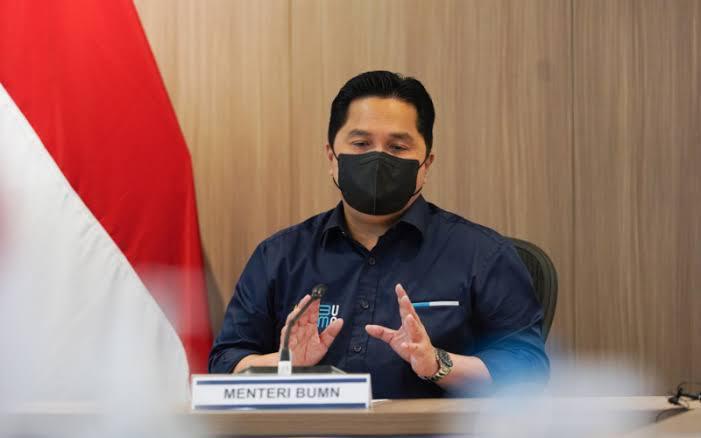 Foto: Menteri BUMN Erick Tohir