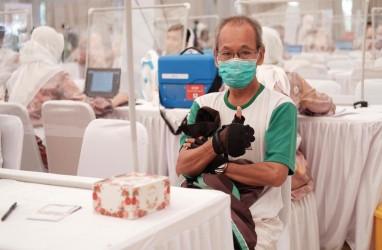 Vaksinasi Virus Corona Massal Sasar 4.600 Warga Palembang