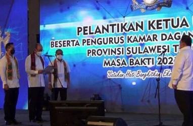Lantik Pengurus Kadin Sultra, Anindya Bakrie Janji Majukan Perekonomian Indonesia
