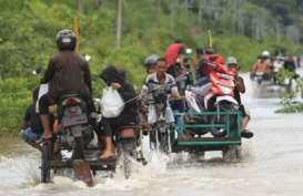 Banjir Rendam Dua Desa di Aceh Barat