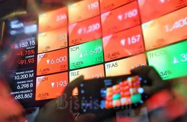 IHSG Turun 4 Sesi, Investor Asing Lepas Saham BRI dan BCA