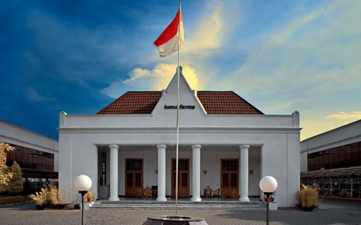 Kantor Pusat PT Kimia Farma Tbk. di Jalan Veteran, Jakarta Pusat. - kimiafarma.co.id