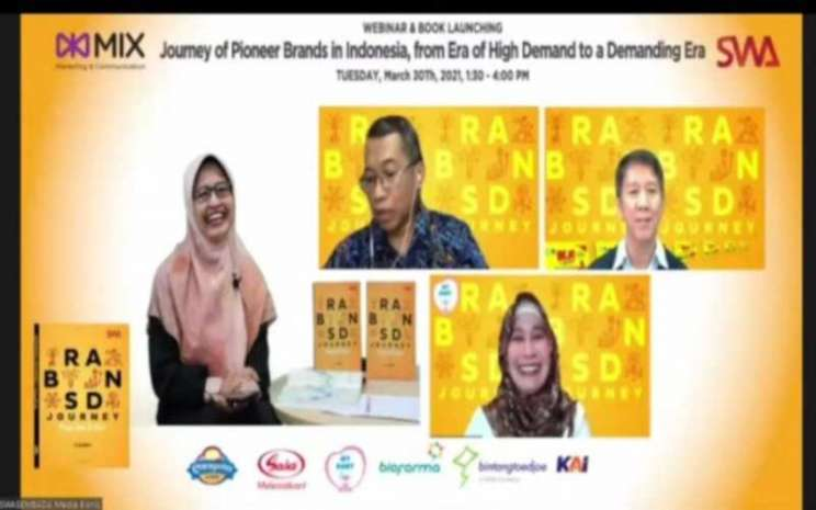 Peluncuran buku Brand Journey, From Zero to Hero. - Istimewa