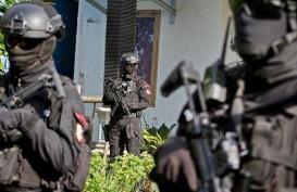 Densus 88 Amankan 18 Terduga Teroris di Makassar