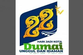 Motif Itik Pulang Petang jadi Logo HUT Kota Dumai,…