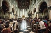 Taat Jalankan Prokes, Gereja Katedral Tetapkan Sejumlah Aturan