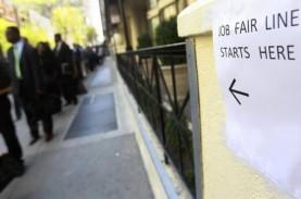 Klaim Pengangguran di AS Meningkat saat Bursa Kerja…